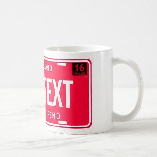 課税して下さい及び使って下さい コーヒーマグカップ