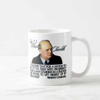 課税のウィンストン・チャーチルの引用文 コーヒーマグカップ