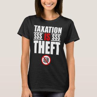 課税は盗難女性のTシャツです Tシャツ