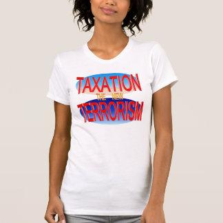 課税新しいテロリズム Tシャツ