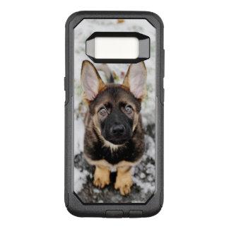 調べているかわいい子犬 オッターボックスコミューターSamsung GALAXY S8 ケース
