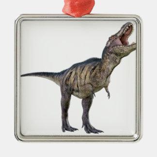 調べるおよびとどろくティラノサウルス・レックスのレックス メタルオーナメント