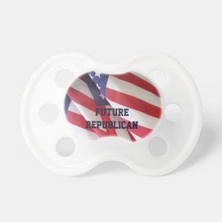 調停者のBinkyの米国旗、未来の共和党員 おしゃぶり