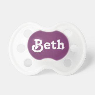 調停者Beth おしゃぶり