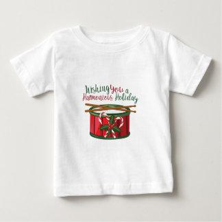 調和したHolid ベビーTシャツ