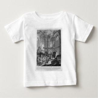 調和で発明され、設計されている埋葬室 ベビーTシャツ