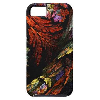 調和の抽象美術のiPhone 5を着色して下さい iPhone SE/5/5s ケース