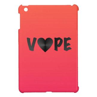 調子の黒いVapeの2ハート iPad Miniカバー