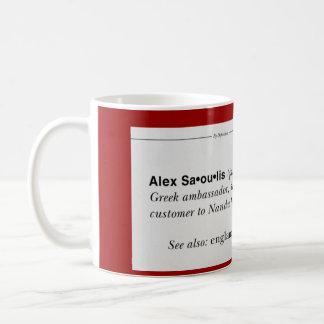 調整器のアレックスのマグ コーヒーマグカップ