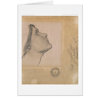 調査して下さい「魔女のために」、c.1904-05 (紙の鉛筆) カード