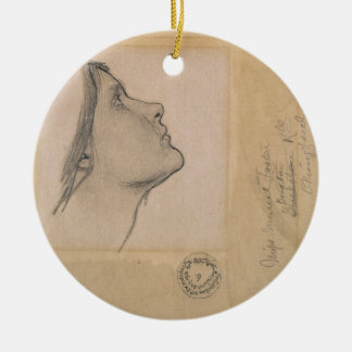 調査して下さい「魔女のために」、c.1904-05 (紙の鉛筆) セラミックオーナメント