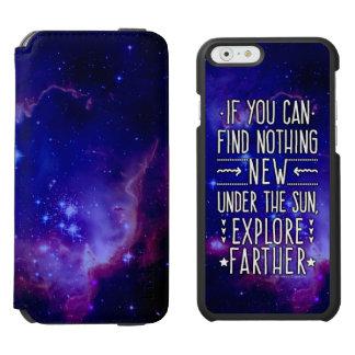 調査の単語の宇宙の銀河系/星雲 INCIPIO WATSON™ iPhone 6 ウォレットケース