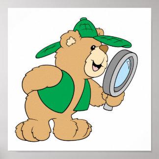 調査の探偵くま ポスター