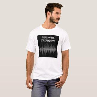 調査官のSoundwaveの超常的な男性T Tシャツ