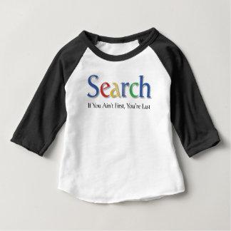 調査 ベビーTシャツ