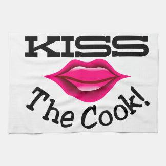 調理師に接吻して下さい キッチンタオル