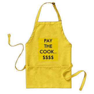 調理師に........、支払って下さい スタンダードエプロン