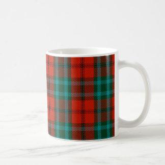 調理師のタータンチェックのマグ コーヒーマグカップ
