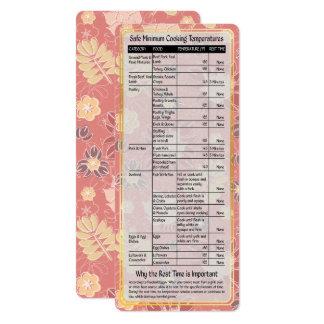 調理師の助手安全な料理の臨時雇用者カード#3 カード