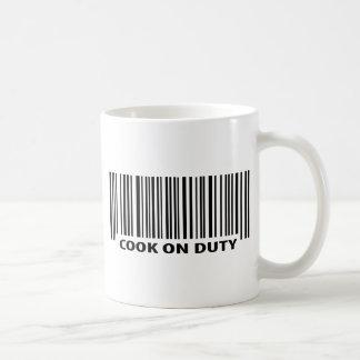 調理師の勤務中のアイコン コーヒーマグカップ