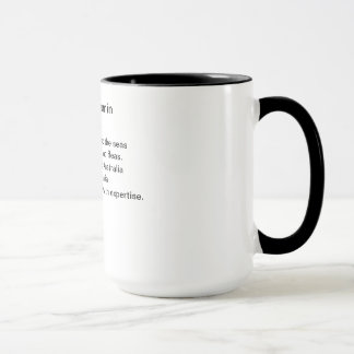 調理師の害虫 マグカップ