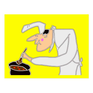 調理師 ポストカード