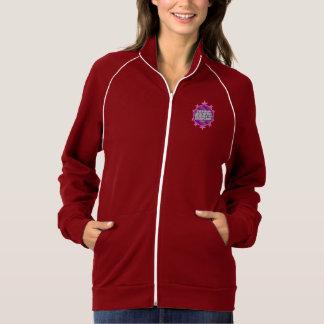 諺の3:5の(ピンクの)女性のトラックジャケット ジャケット