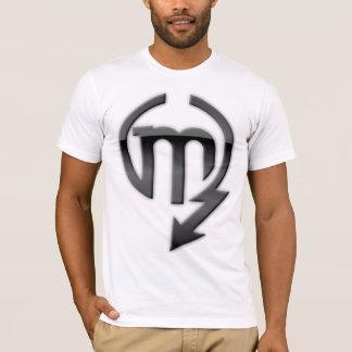 謙虚さのロゴのワイシャツ Tシャツ