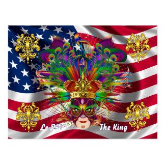 謝肉祭のカーニバルのイベントは見ますノートを喜びます ポストカード