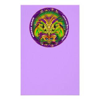 謝肉祭のカーニバルのイベントは見ますノートを喜びます 便箋