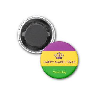 謝肉祭のニュー・オーリンズの磁石幸せなルイジアナ マグネット