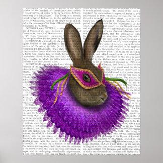 謝肉祭のノウサギ ポスター