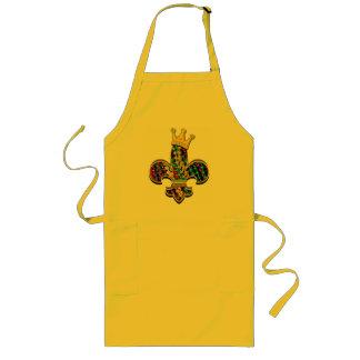 謝肉祭のフルーアは祝います ロングエプロン