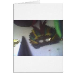 謝肉祭のマスクの暗闇4 カード