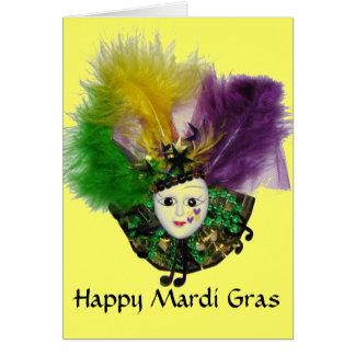 謝肉祭のマスク3のカード カード