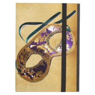 謝肉祭の仮面舞踏会の羊皮紙 iPad AIRケース