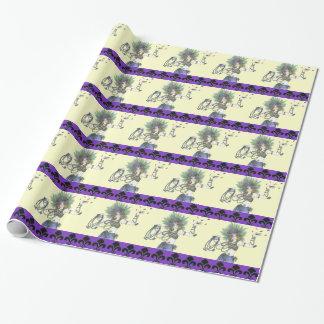 謝肉祭の女の子の包装紙 ラッピングペーパー