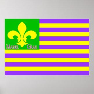 謝肉祭の旗 ポスター