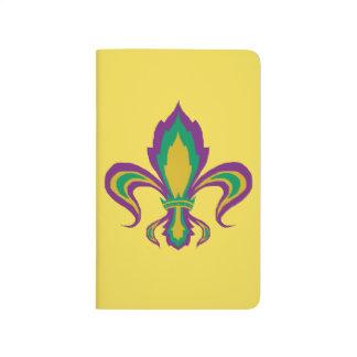 謝肉祭の(紋章の)フラ・ダ・リ ポケットジャーナル