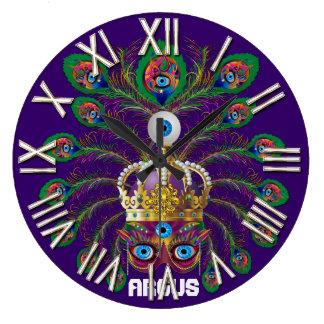 謝肉祭アルゴスアルゴスは重要な眺めのノートを注目します ラージ壁時計