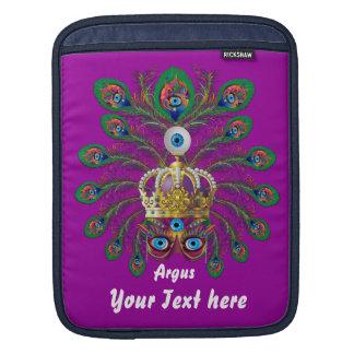 謝肉祭アルゴスアルゴスは重要な眺めのノートを注目します iPadスリーブ