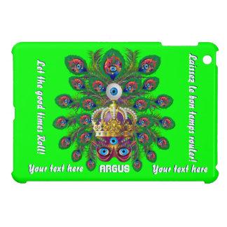 謝肉祭アルゴス目の重要な眺めのノート iPad MINIカバー