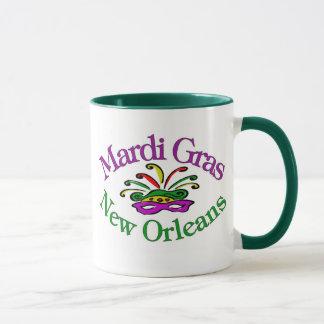 謝肉祭ニュー・オーリンズ マグカップ