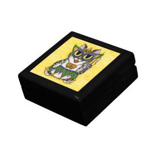 謝肉祭猫のパーティーのニュー・オーリンズのマスクの芸術のギフト用の箱 ギフトボックス