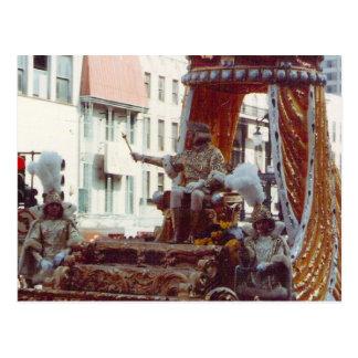 謝肉祭1983年のレックス王 ポストカード