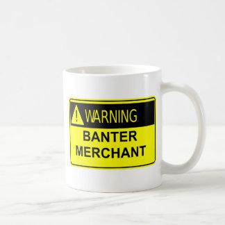 警告の冗談商人のマグ コーヒーマグカップ