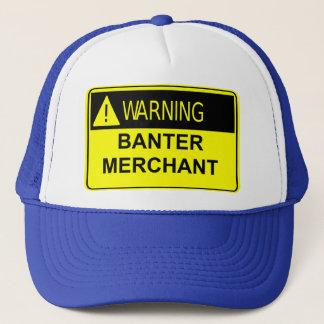 警告の冗談商人の帽子 キャップ
