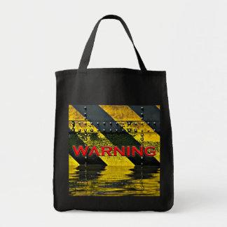 警告標識 トートバッグ
