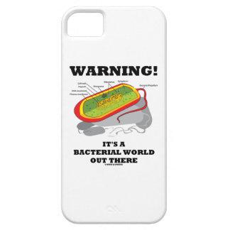 警告! それはそこに細菌の世界です iPhone SE/5/5s ケース