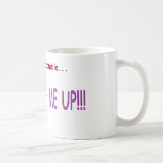 警告: ない朝の人々のために! コーヒーマグカップ